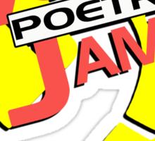 Vogon Poetry Jam Sticker