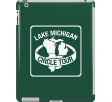 Lake Michigan Circle Tour, Sign, Wisconsin iPad Case/Skin