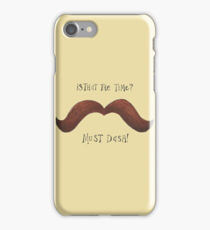 Must Dash! iPhone Case/Skin