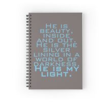 Legend - Quote Spiral Notebook