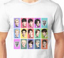 SEVENTEEN Faces Unisex T-Shirt