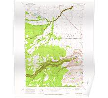 USGS Topo Map Oregon Potters Ponds 281153 1963 24000 Poster