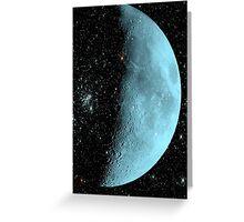 Blue Moon © Greeting Card
