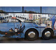 Venice On Wheels Photographic Print
