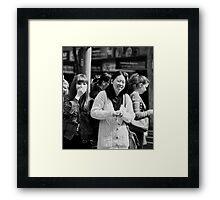 The Joke... Framed Print