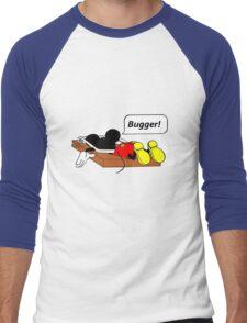 That's all folks! Men's Baseball ¾ T-Shirt
