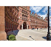 St. Pancras Station Photographic Print
