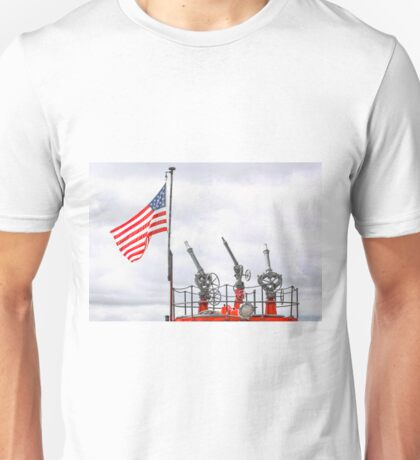 A Tribute To Marine Firefighters Unisex T-Shirt