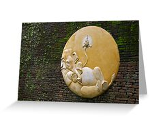 Contented elephant, Chiang Mai, Thailand Greeting Card