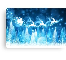 Sparkling Winter Wonderland Canvas Print