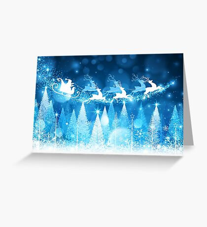 Sparkling Winter Wonderland Greeting Card