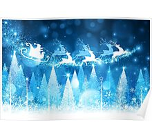Sparkling Winter Wonderland Poster