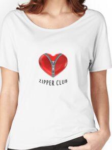 Zipper club Women's Relaxed Fit T-Shirt