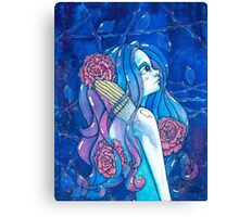In me lives a whale Canvas Print