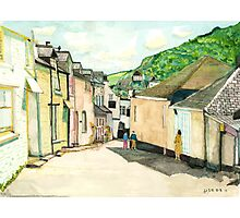 Port Issac Cornwall Photographic Print