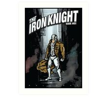 The Iron Knight - Issue #01 Art Print