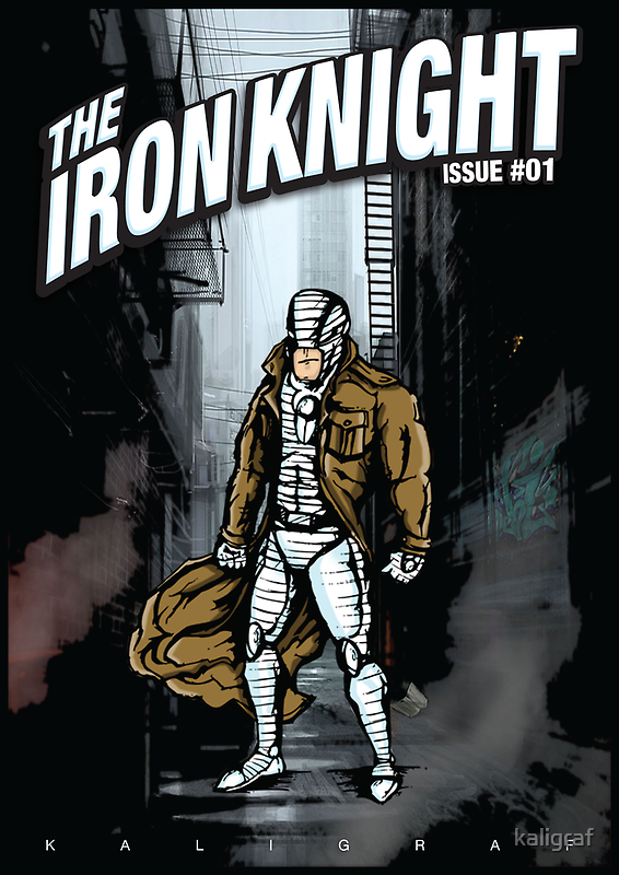 The Iron Knight - Issue #01 by kaligraf