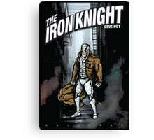 The Iron Knight - Issue #01 Canvas Print