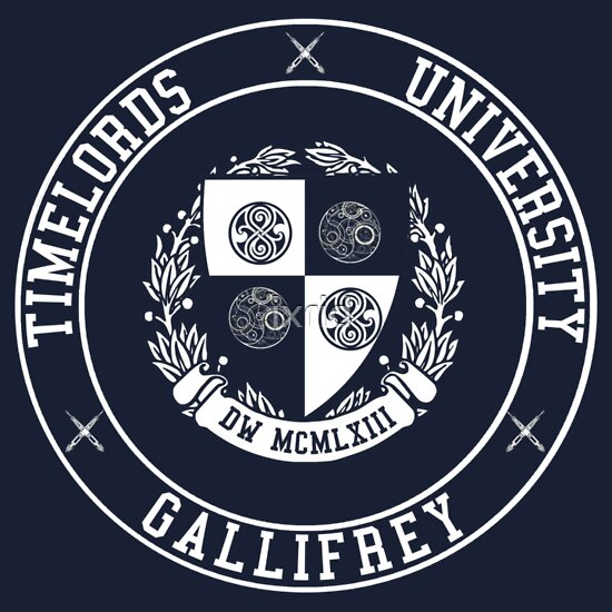 TShirtGifter presents: Gallifrey University