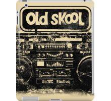 Old Skool Boombox Art iPad Case/Skin