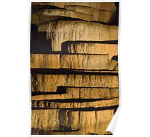 Limestone stacks Poster