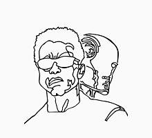 Black and White Terminator Unisex T-Shirt