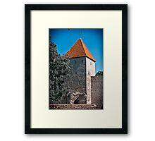 Tallinn, Old Town Framed Print