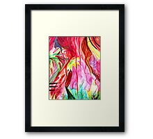 In The Pathless Woods. Framed Print