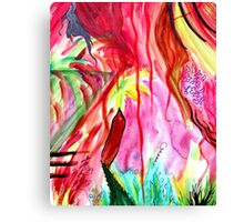 In The Pathless Woods. Canvas Print