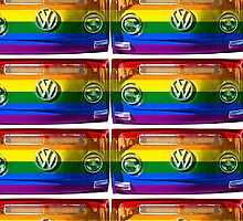 VW Rainbow by benbdprod