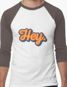 Hey. Men's Baseball ¾ T-Shirt