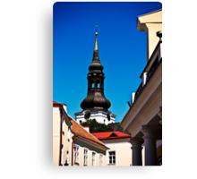 Tallinn, Old Town Canvas Print