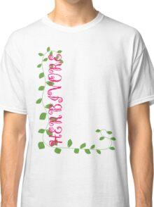 Herbivore in Pink Classic T-Shirt