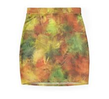 Autumn Leaves 08 Mini Skirt