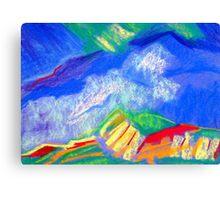 The Blue Mountain Trail. Canvas Print