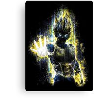 Epic Prince of Fighters Portrait Canvas Print