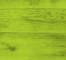 Bright green wood structure as a background texture by wsfbubble