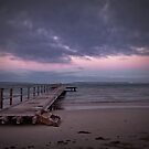 Horrocks Beach Jetty by Pene Stevens