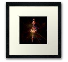 Golden Spindle  Framed Print
