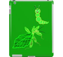 Eyes off I'm a Leaf 'Insect' (Phylliidae) Not a Walking Leaf! A design for everything iPad Case/Skin
