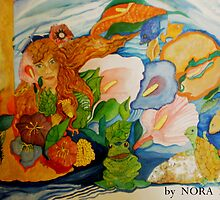 Lady in the Lake #2 by Nora Fraser