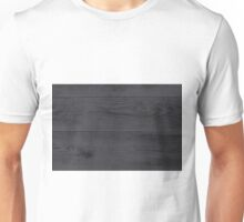 Anthracite wood structure as a background texture Unisex T-Shirt