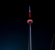 One Second of the CN Tower by Gary Chapple