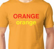 Orange # 2 Unisex T-Shirt