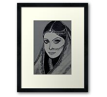 Rajasthani Bride......India Framed Print