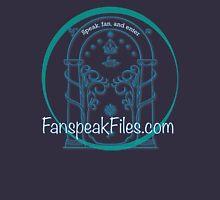 Speak, Fan, and Enter. Unisex T-Shirt