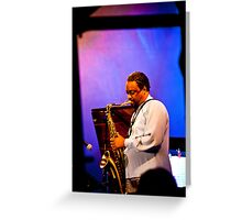 Chico Freeman  Greeting Card