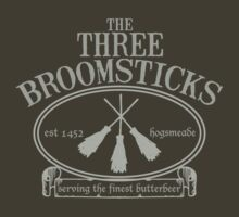 The Three Broomsticks by studown