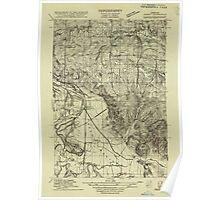 USGS Topo Map Oregon Sidney 282188 1915 31680 Poster