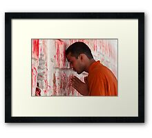 Religious Faith-6/2011 Framed Print